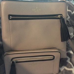 Kate Spade crossbody purse and wallet